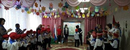 Дошколята-юнармейцы прошли патриотический квест