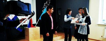 В Губкине наградили победителей конкурсов на тему «Молодежь и выборы»