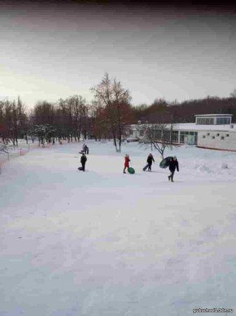 Спортивное воскресенье в СОК «Орленок»