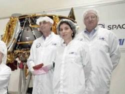 Израильский аппарат дал сбой при полёте к Луне