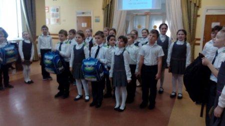 Во 2А классе прошло внеклассное мероприятие «Мы будущие защитники Отечества»
